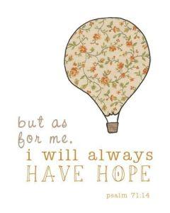 me hoping