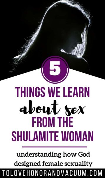 5 Things We Learn from the Shulamite Woman about Female Sexuality